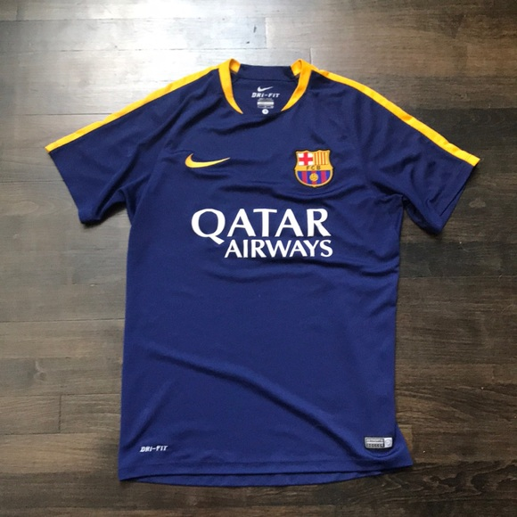 competitive price fd502 a65ca Nike Barcelona practice jersey